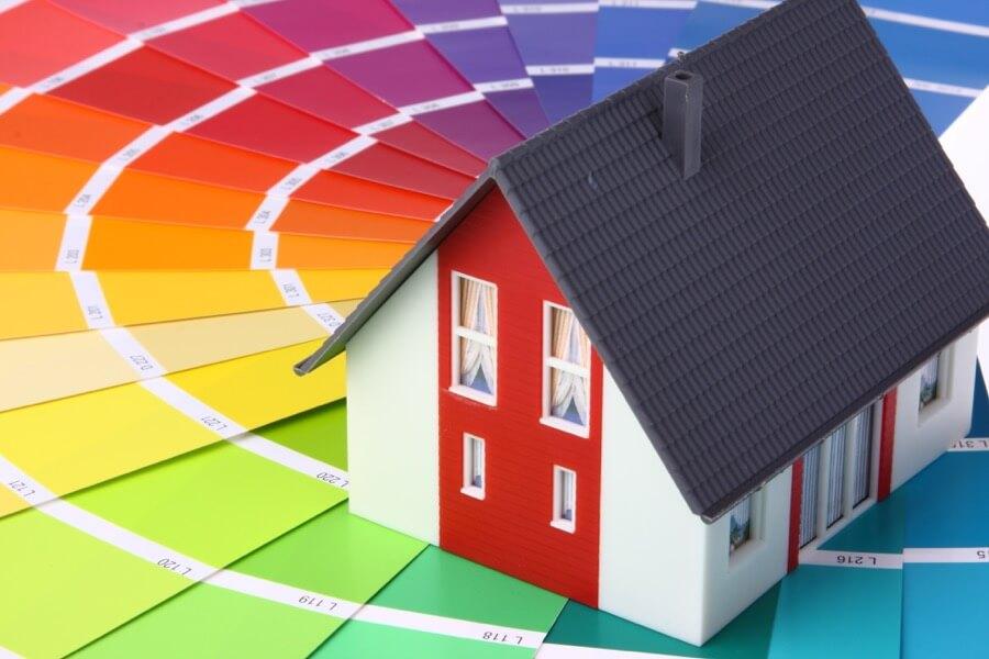 Farbkarte Häuseranstrich Fassadenanstrich
