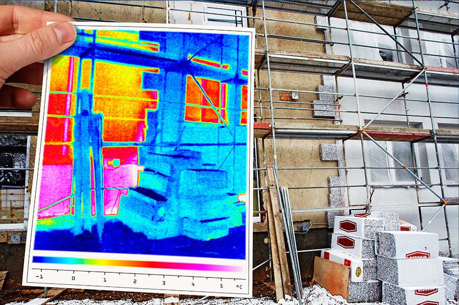 Energetische Sanierung der Fassade Malereibetrieb Hannover