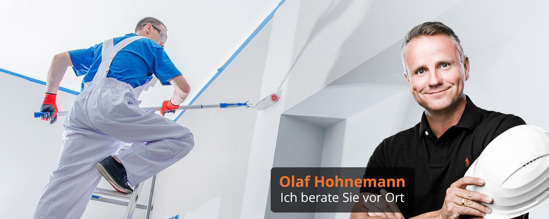 Fassadenanstrich Nerlich Malereibetrieb Hannover