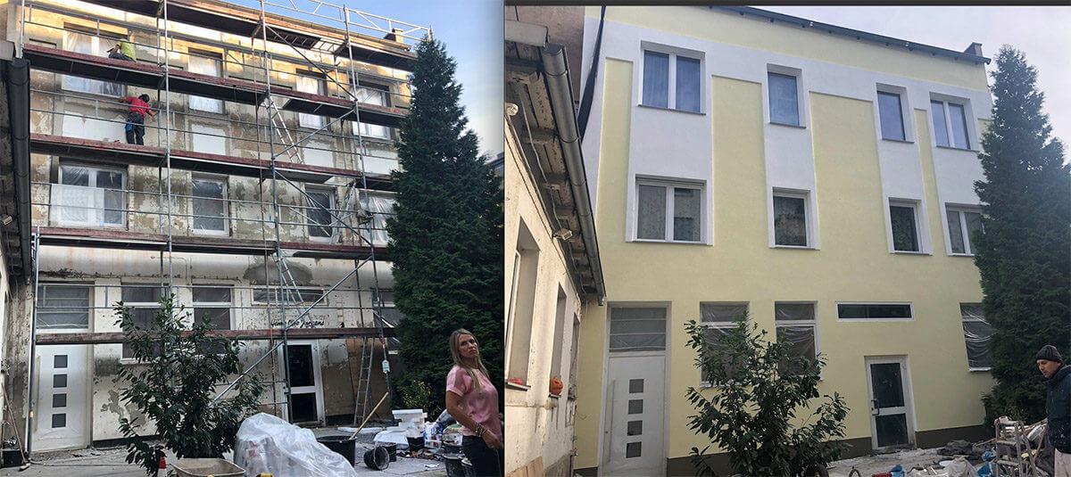 Hervorragend Haus verputzen und streichen in Hannover. Die Kosten für Außenputz QN78