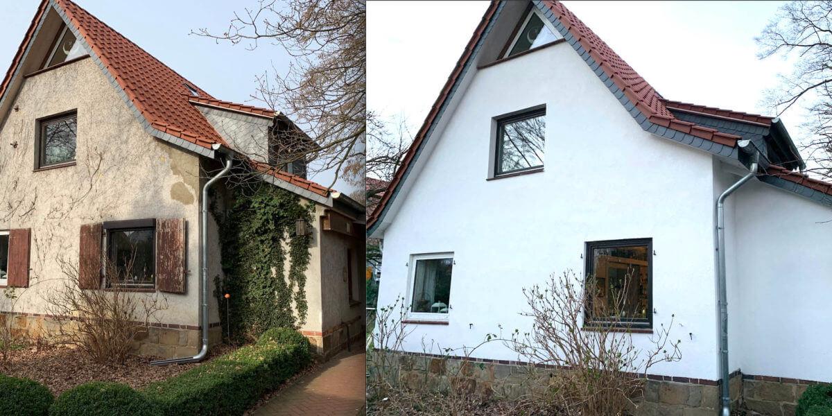 Malereibetrieb Hannover Fassade verputzen